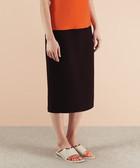 Hanbury black knee-length skirt